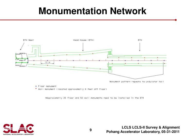 Monumentation Network