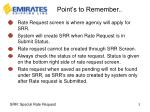 point s to remember