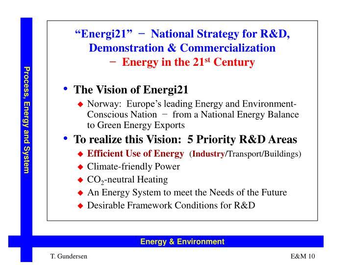 """""""Energi21"""""""