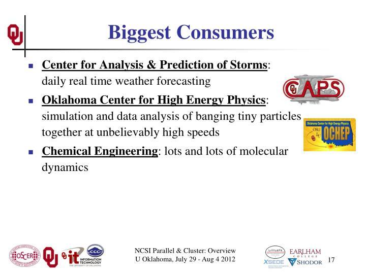 Biggest Consumers