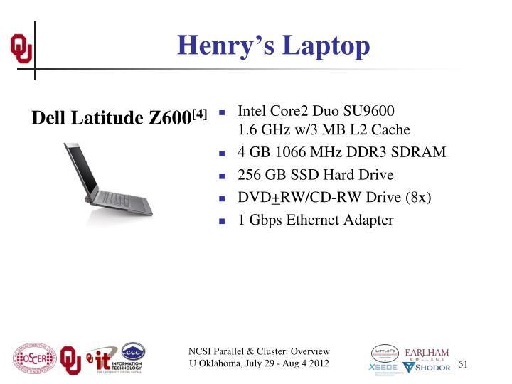 Henry's Laptop