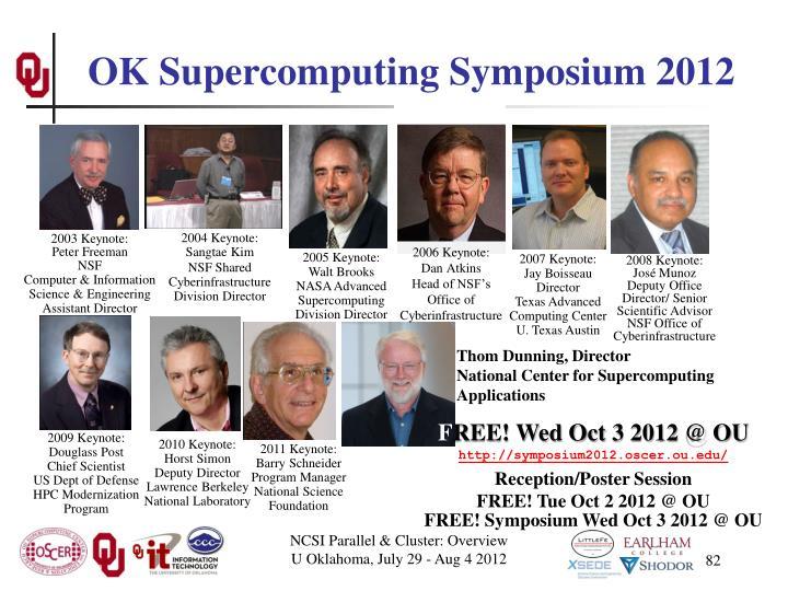 OK Supercomputing Symposium