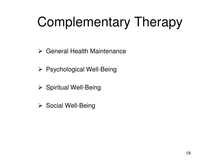 Complementary Therapy