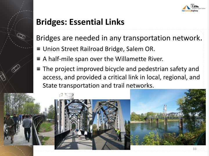 Bridges: Essential Links