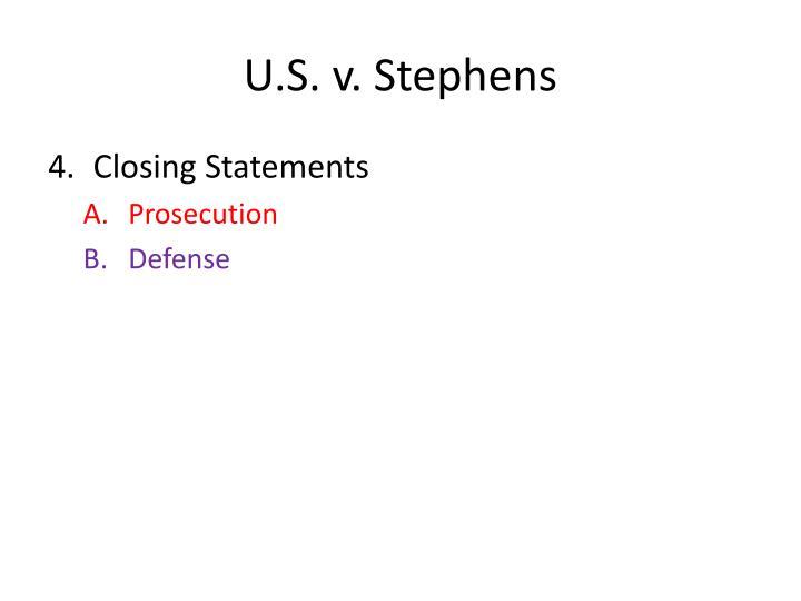 U.S. v. Stephens