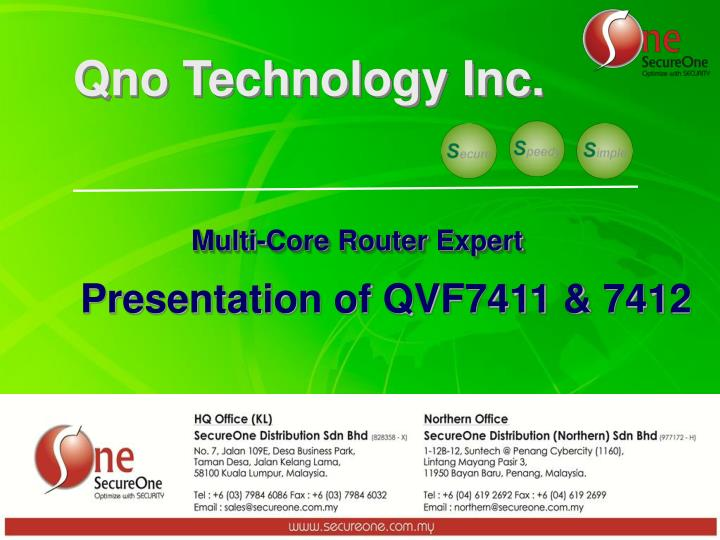 Qno Technology Inc.