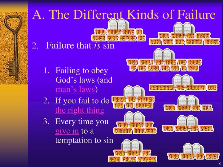 A. The Different Kinds of Failure