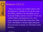 hebrews 12 5 112