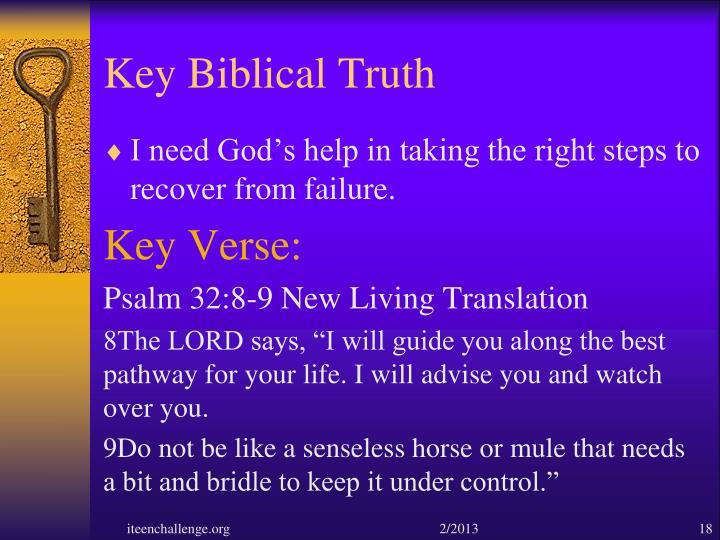 Key Biblical Truth