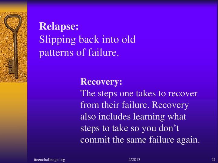 Relapse: