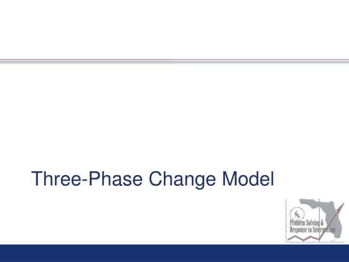 Three-Phase Change Model