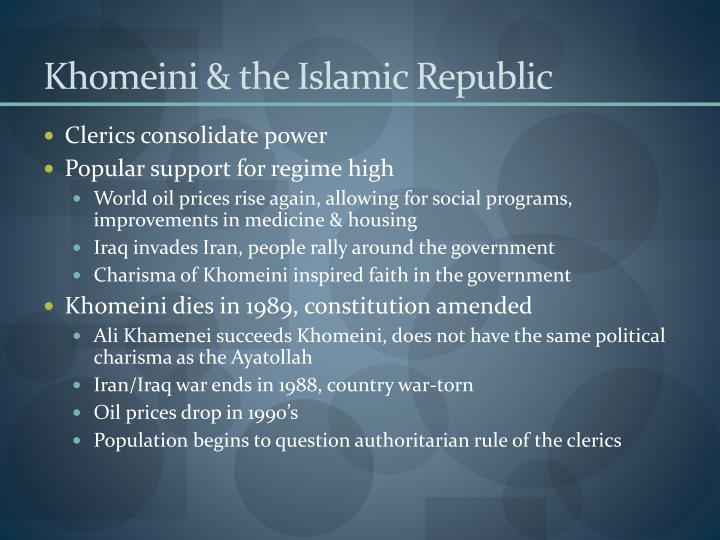 Khomeini & the Islamic Republic