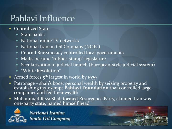 Pahlavi Influence
