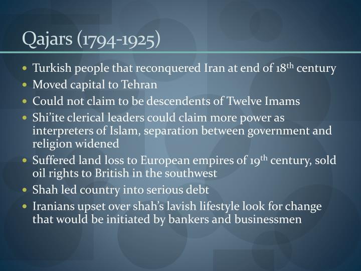 Qajars (1794-1925)