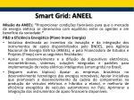 smart grid aneel