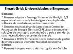 smart grid universidades e empresas