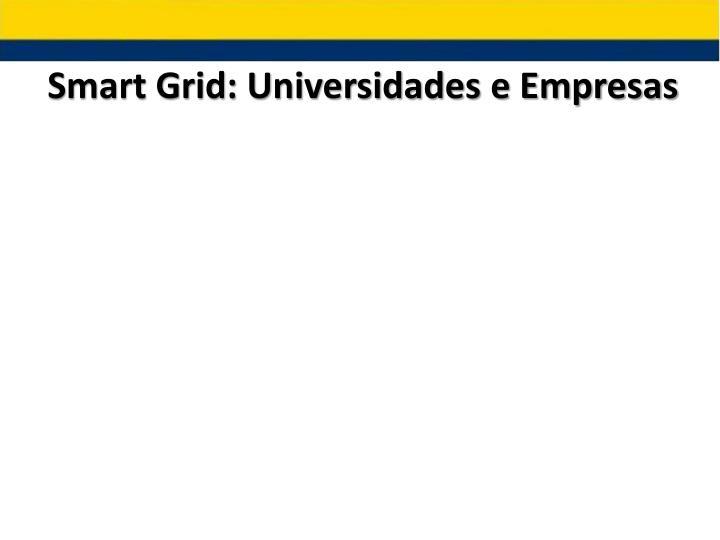Smart Grid: Universidades e