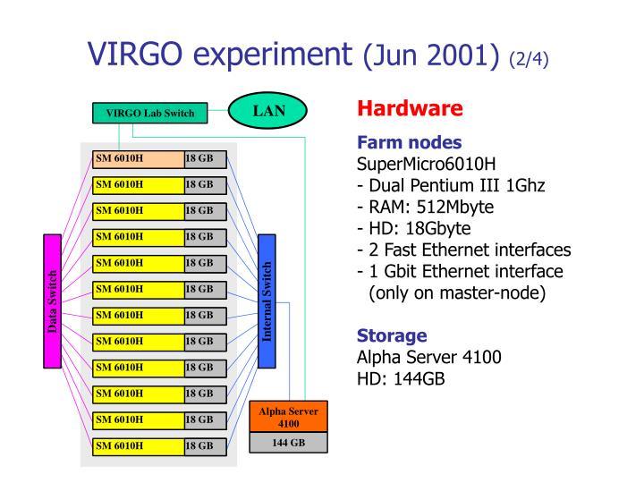 VIRGO experiment