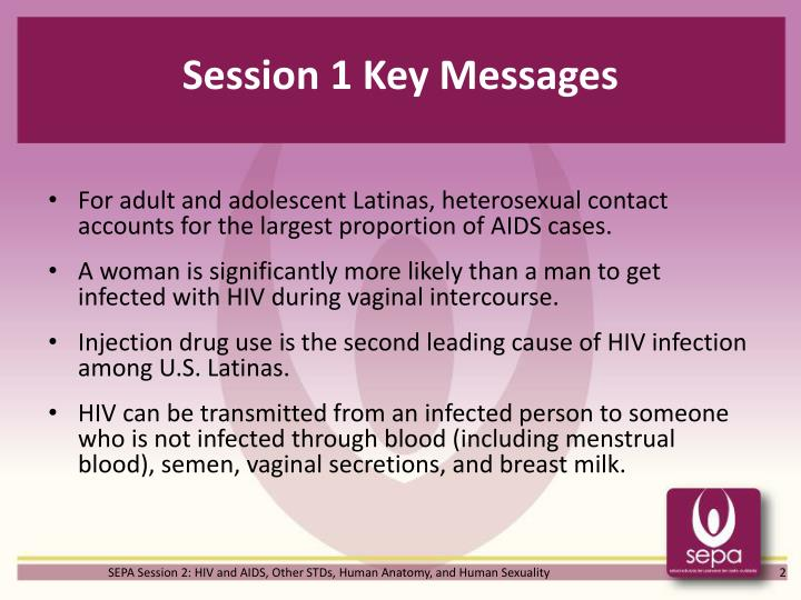 Session 1 key messages1
