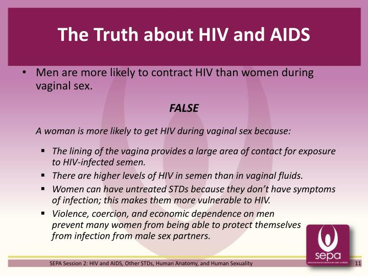 The Truth about HIV and AIDS