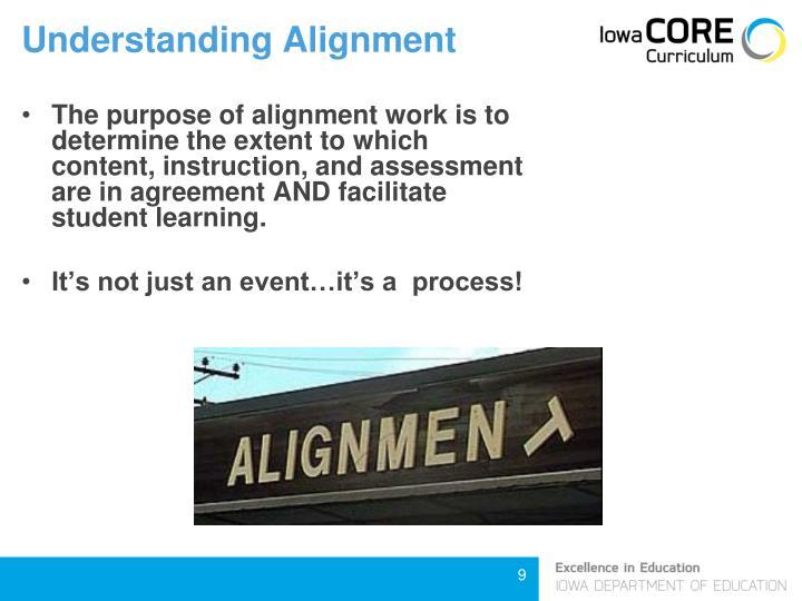 Understanding Alignment