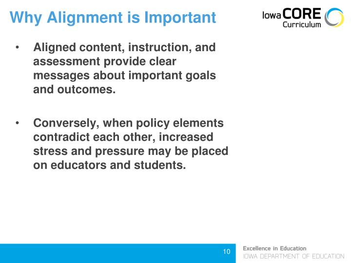 Why Alignment is Important