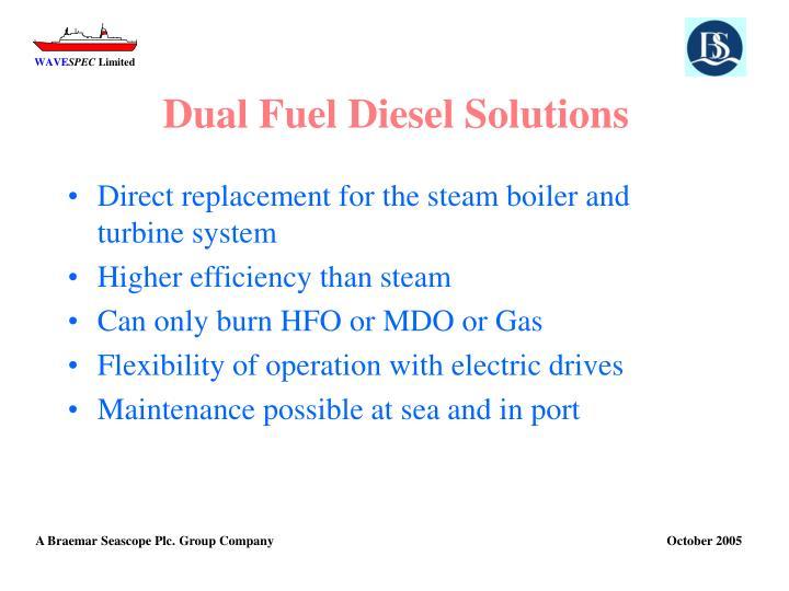 Dual Fuel Diesel Solutions