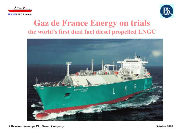 Gaz de France Energy on trials