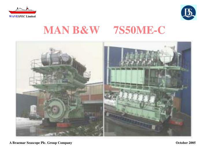 MAN B&W     7S50ME-C