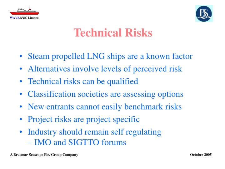 Technical Risks
