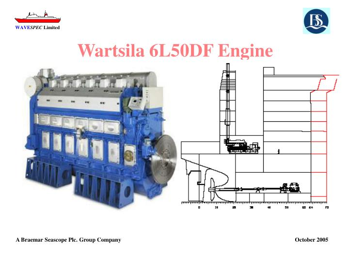 Wartsila 6L50DF Engine