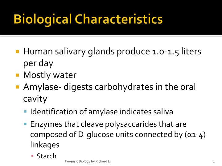 Biological Characteristics