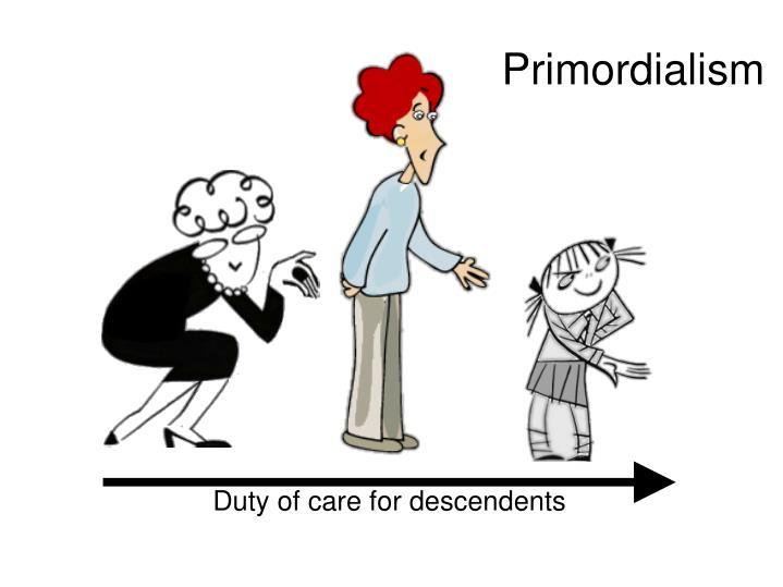 Primordialism