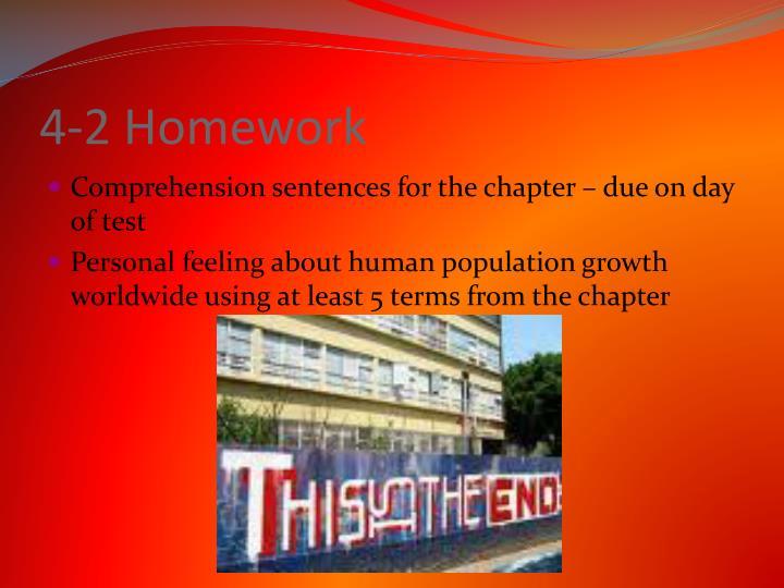 4-2 Homework