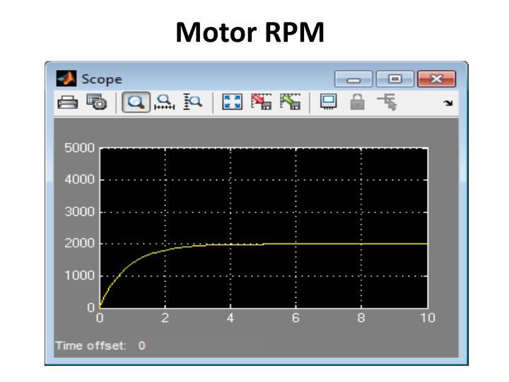 Motor RPM