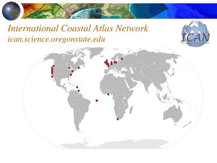 International Coastal Atlas Network