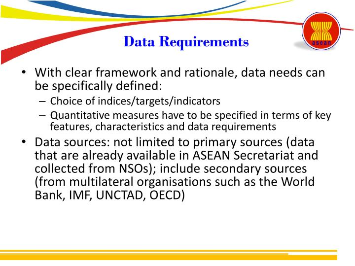 Data Requirements