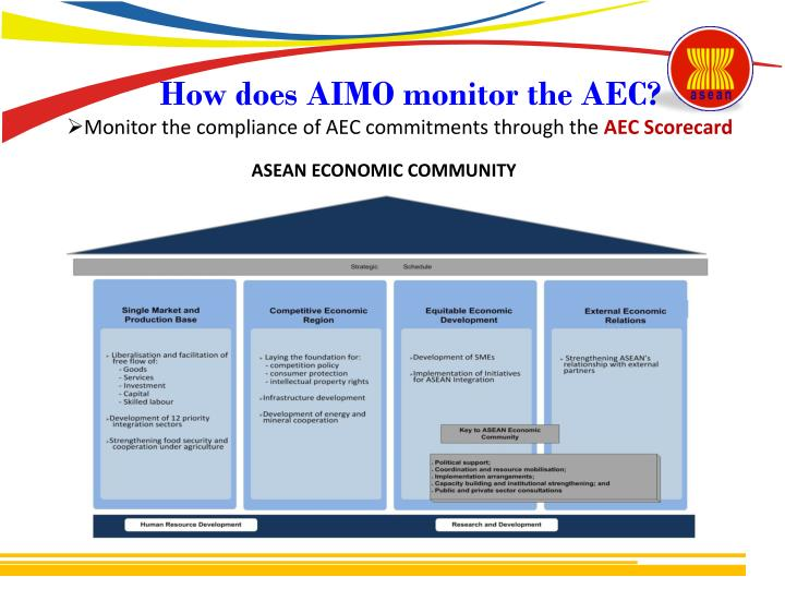 How does AIMO monitor the AEC?