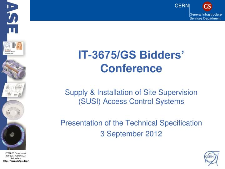 it 3675 gs bidders conference