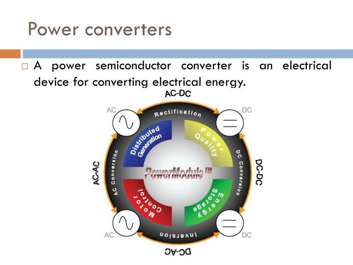 Power converters