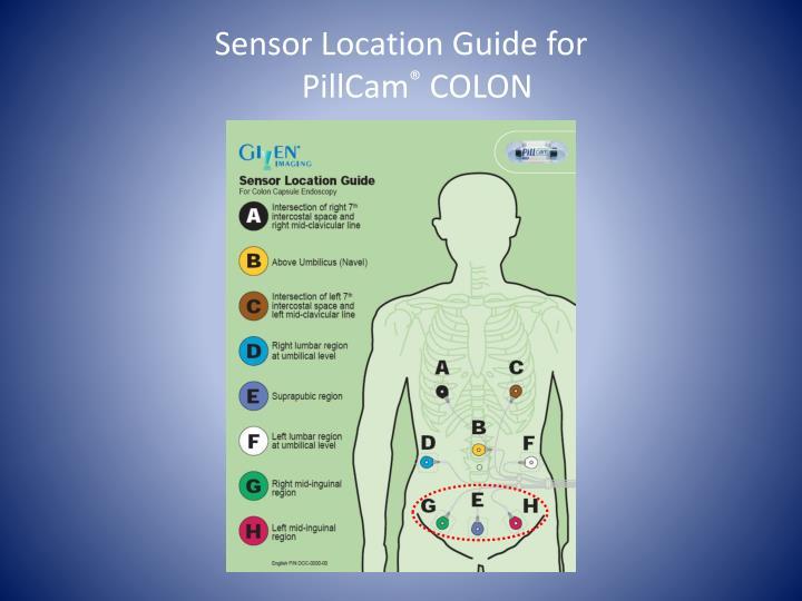 Sensor Location Guide for