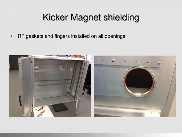 Kicker Magnet shielding