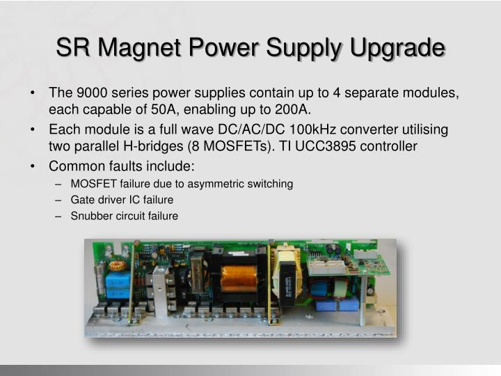 SR Magnet Power Supply Upgrade