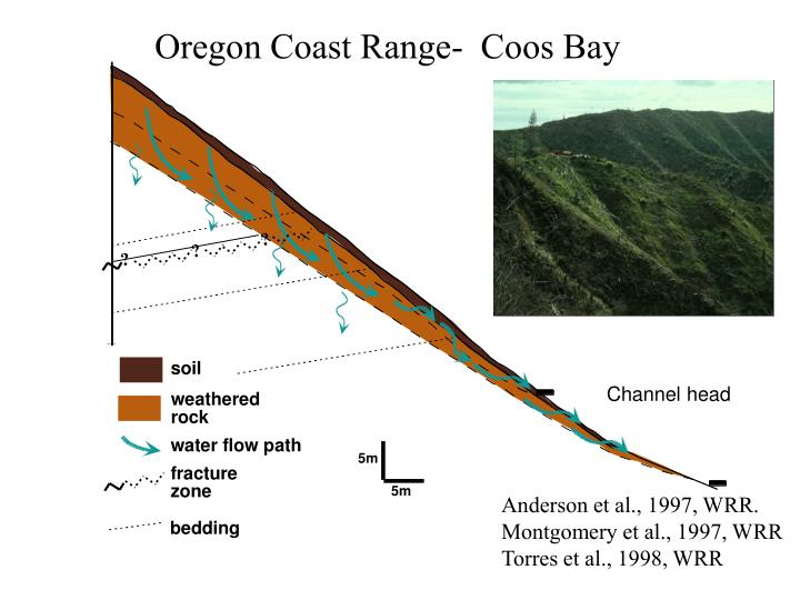 Oregon Coast Range-  Coos Bay