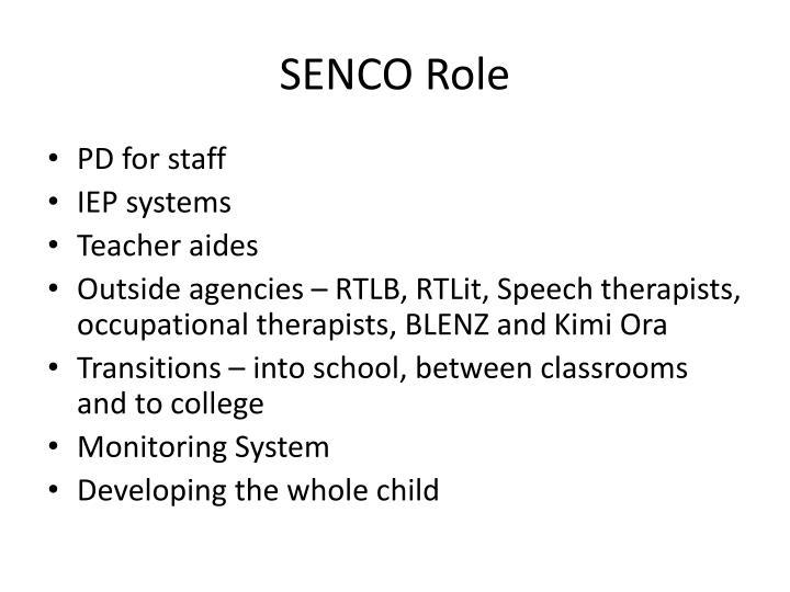 SENCO Role