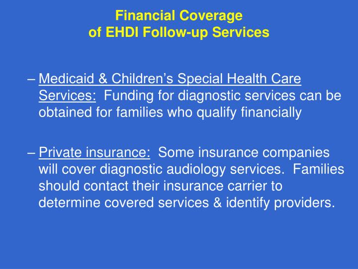 Financial Coverage