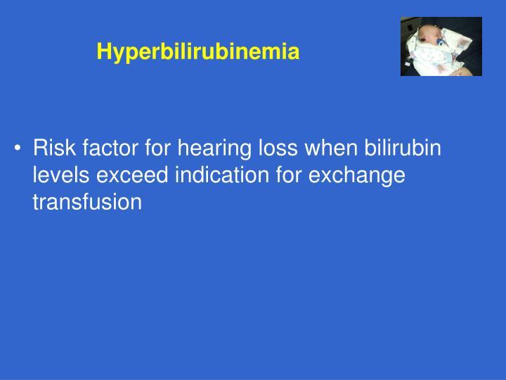Hyperbilirubinemia