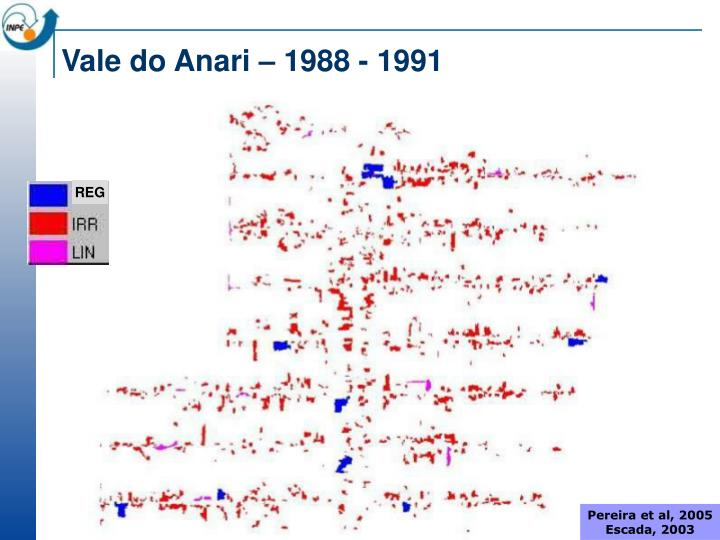 Vale do Anari – 1988 - 1991