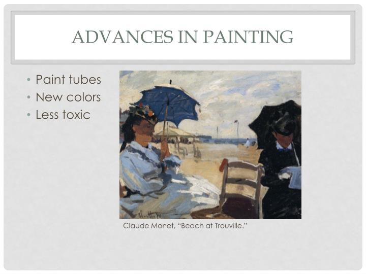 Advances in Painting