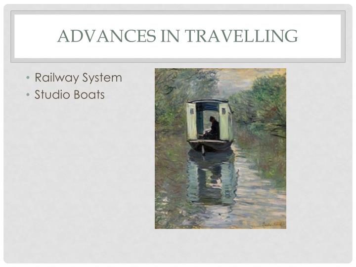 Advances in Travelling